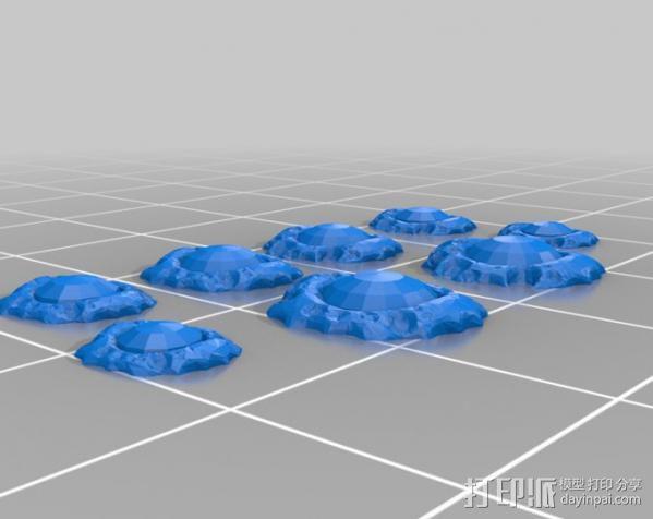 小屋 蜘蛛 3D模型  图16