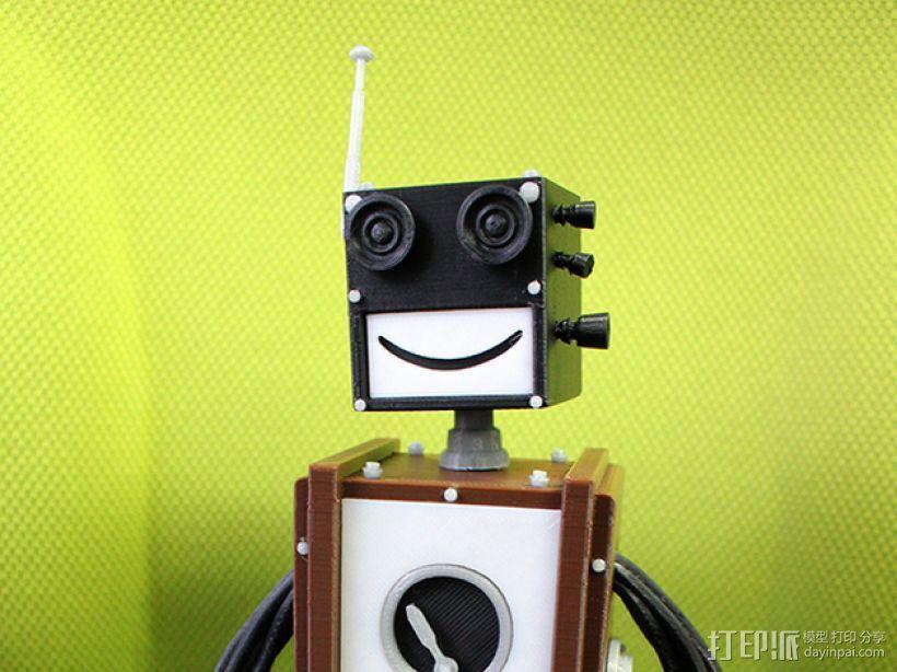 Chocobot机器人 3D模型  图1