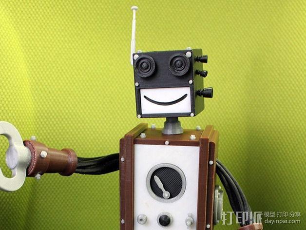 Chocobot机器人 3D模型  图2