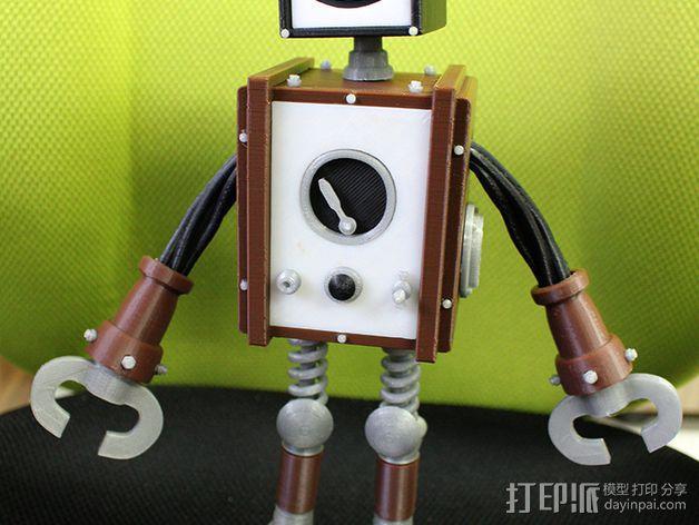 Chocobot机器人 3D模型  图3
