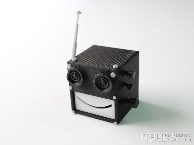 Chocobot机器人 3D模型  图5