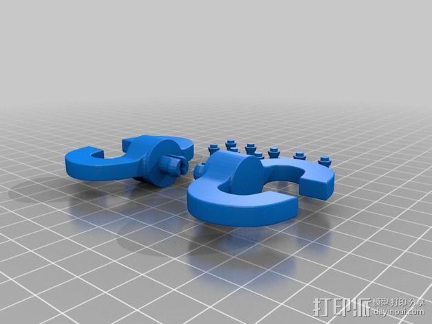 Chocobot机器人 3D模型  图15