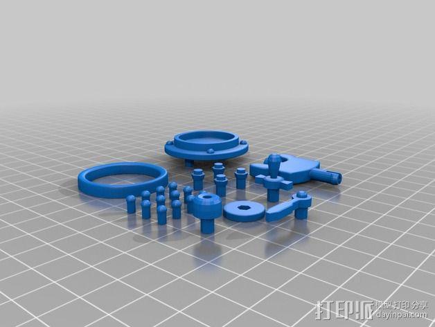 Chocobot机器人 3D模型  图16
