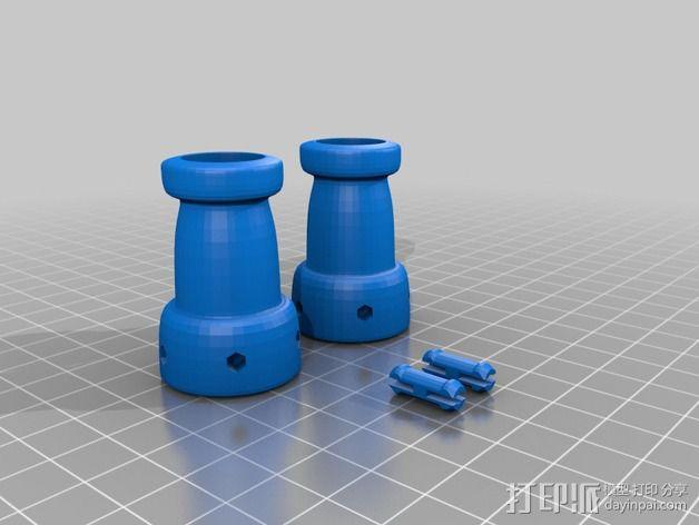 Chocobot机器人 3D模型  图21