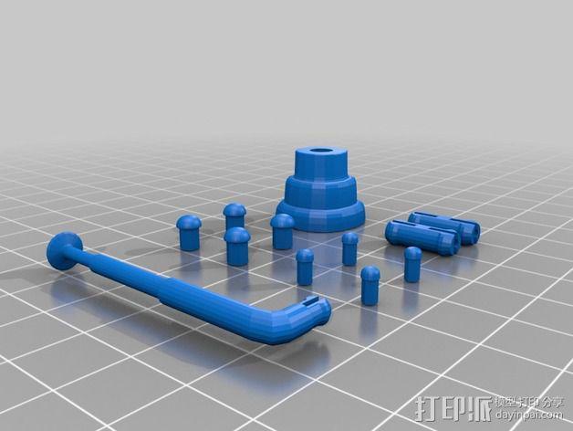 Chocobot机器人 3D模型  图20