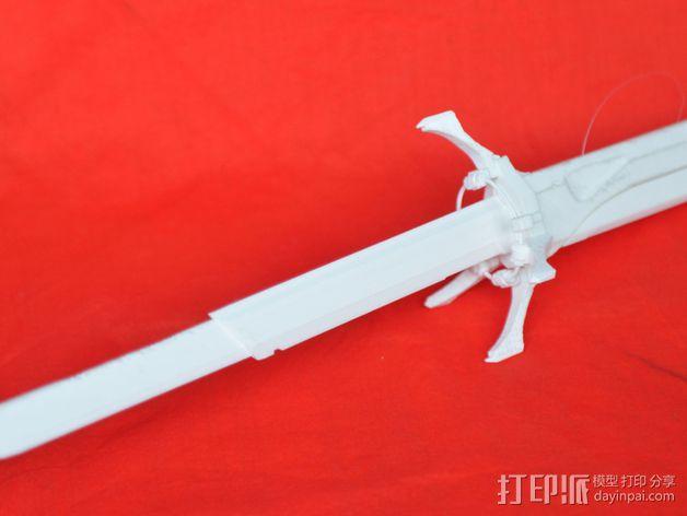 Corvo折刀 3D模型  图4