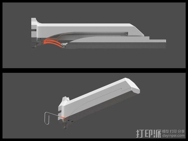 Corvo折刀 3D模型  图10
