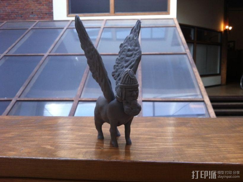 拉玛苏  Lamassu 3D模型  图2
