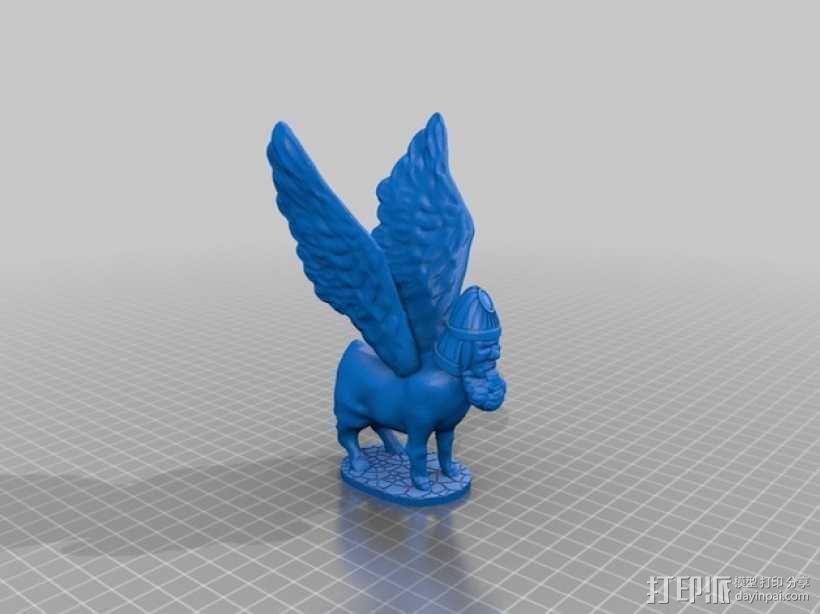 拉玛苏  Lamassu 3D模型  图4
