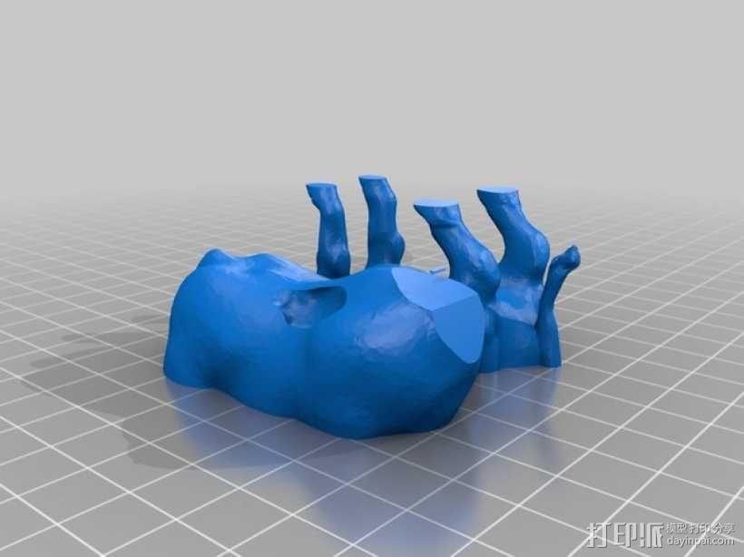 拉玛苏  Lamassu 3D模型  图6