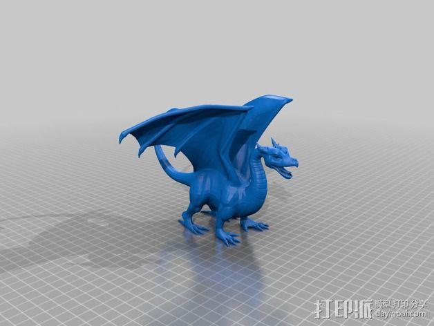 飞龙 3D模型  图2
