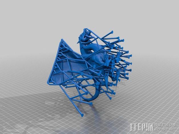 飞龙 3D模型  图3