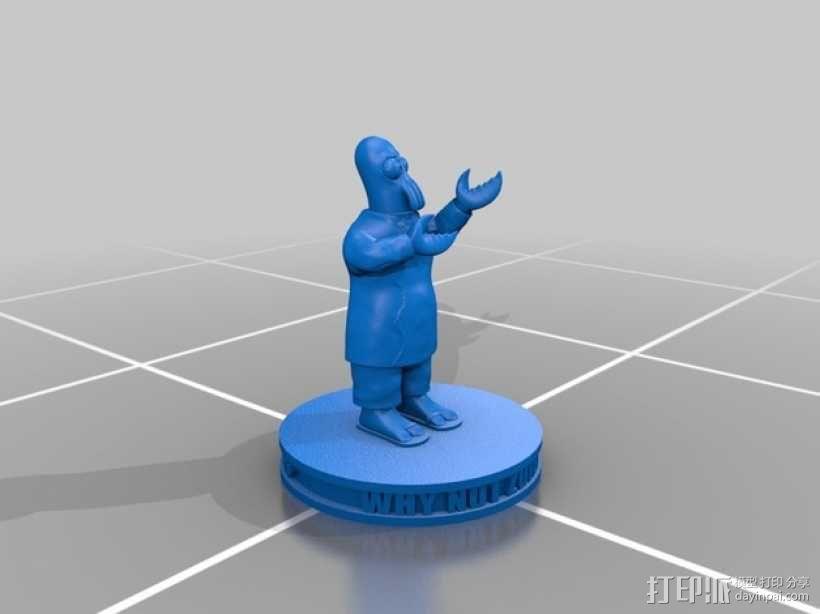 Zoidberg 外星人医生 3D模型  图4
