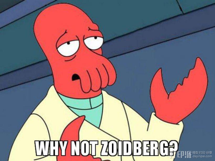 Zoidberg 外星人医生 3D模型  图2