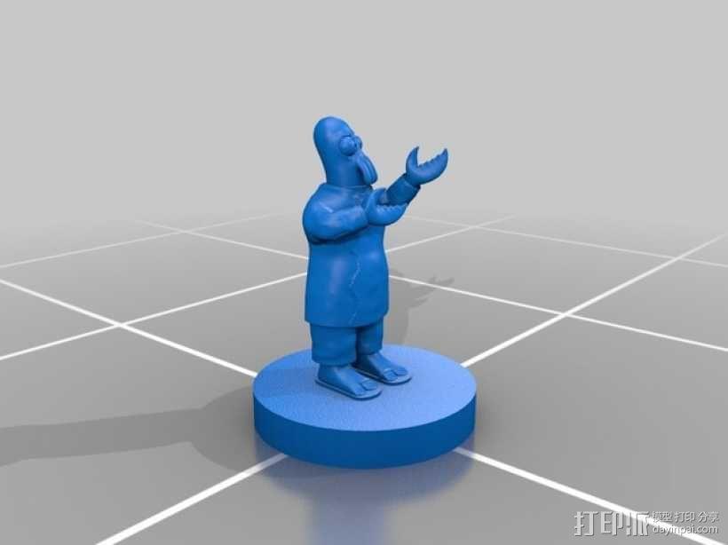 Zoidberg 外星人医生 3D模型  图5