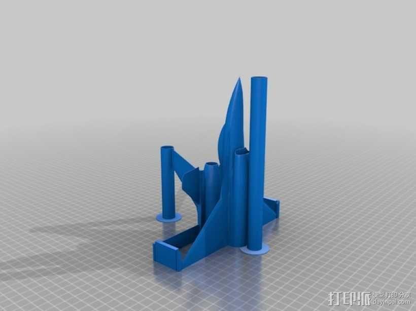 F16战斗机 3D模型  图1