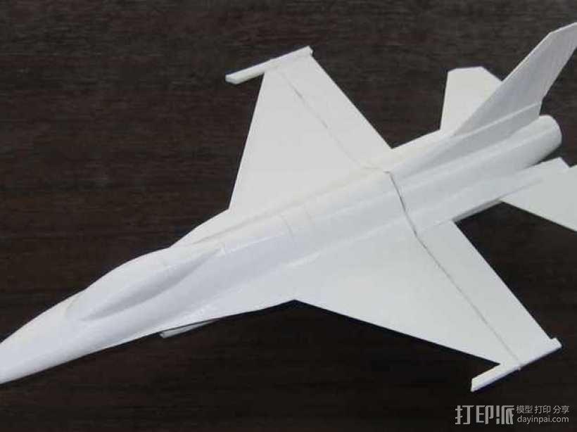 F16战斗机 3D模型  图4