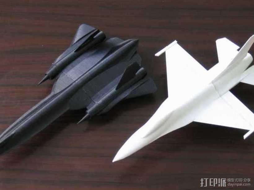F16战斗机 3D模型  图6