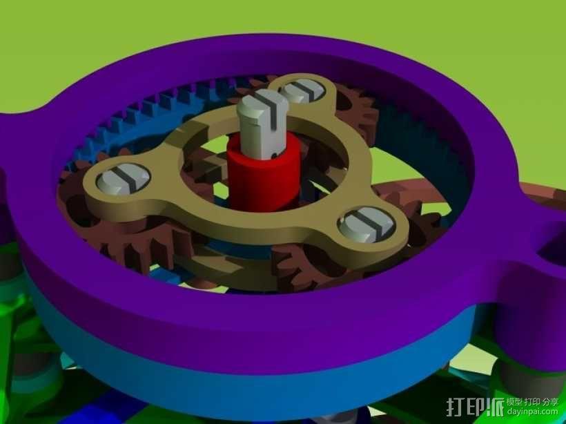 迷你风扇 3D模型  图6