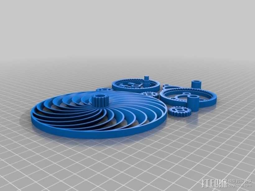 迷你风扇 3D模型  图10
