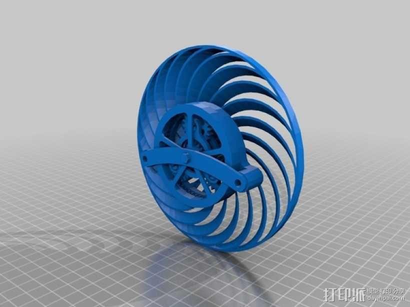 迷你风扇 3D模型  图11