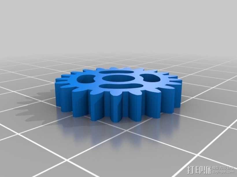 迷你风扇 3D模型  图18