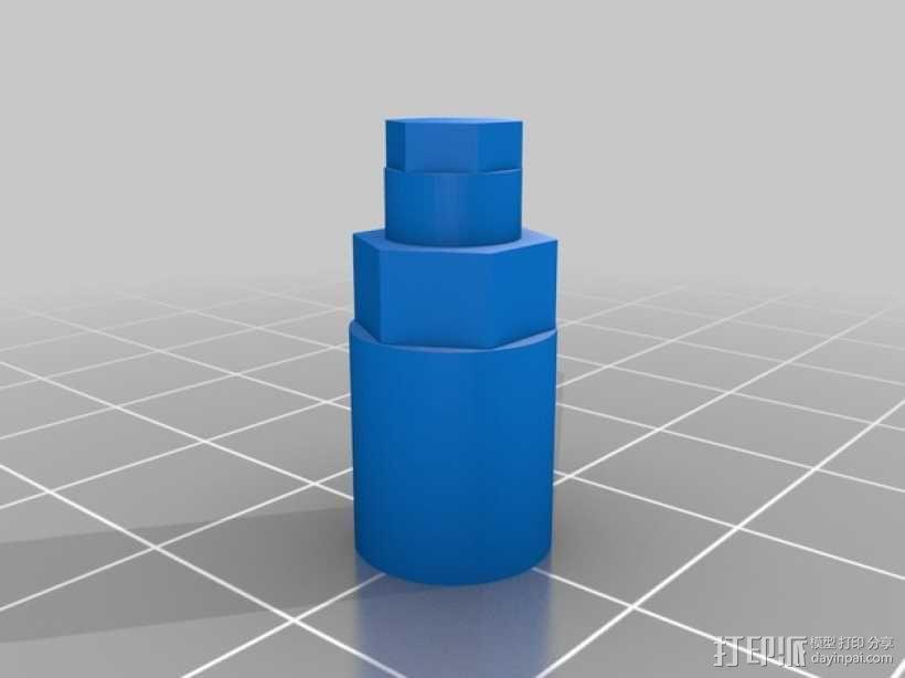 迷你风扇 3D模型  图17