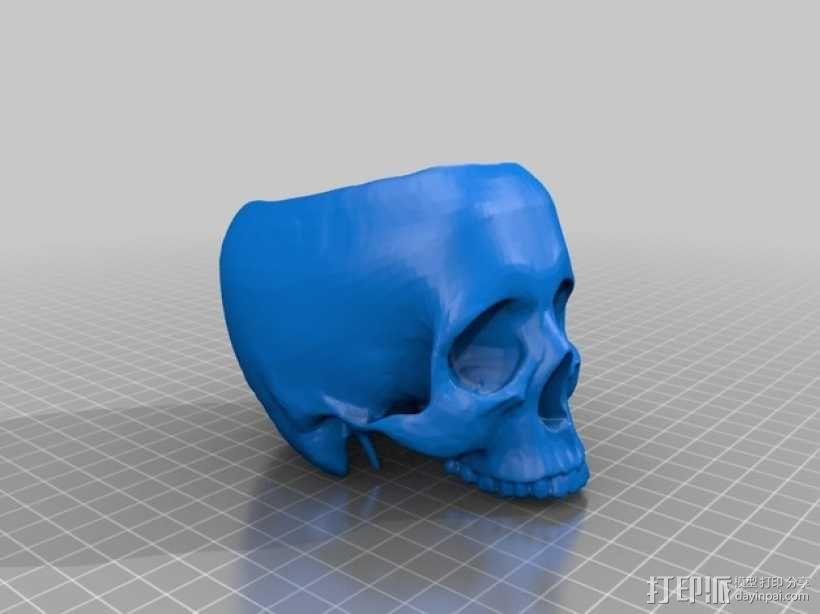 骷髅头 3D模型  图2