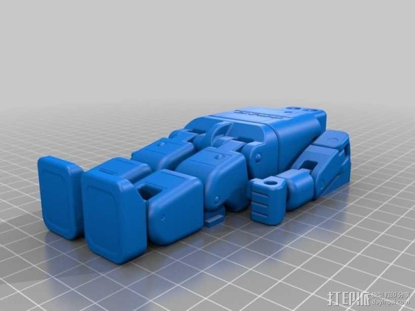 DYSS机器人 3D模型  图2