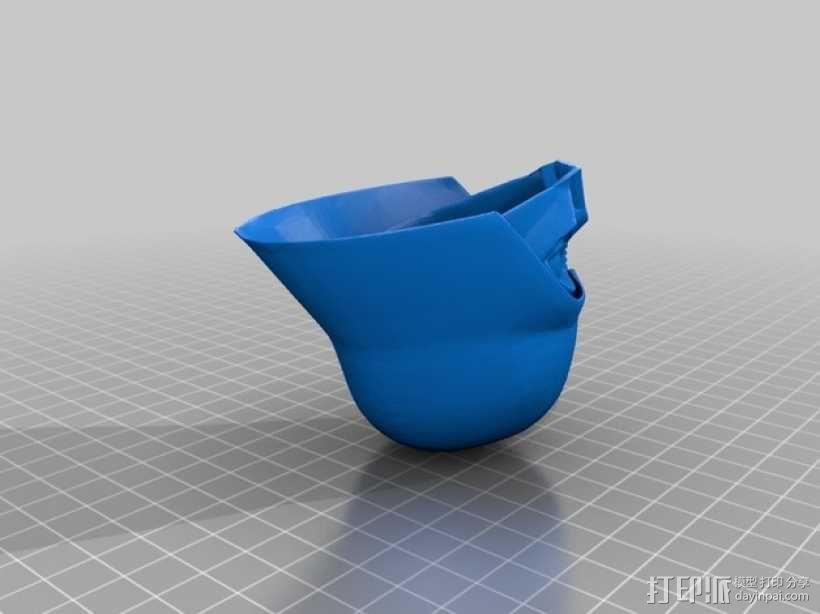 黑武士 半身像 3D模型  图5