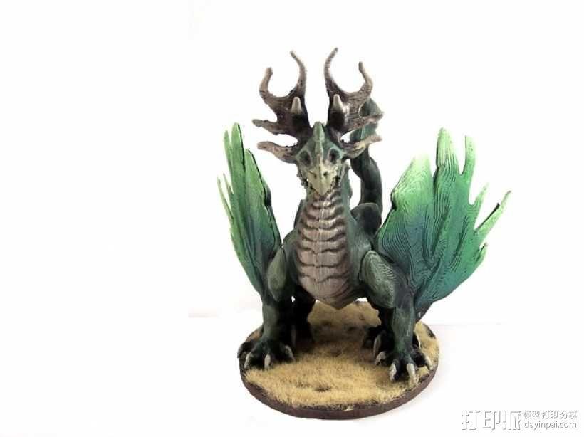 龙 模型 3D模型  图3