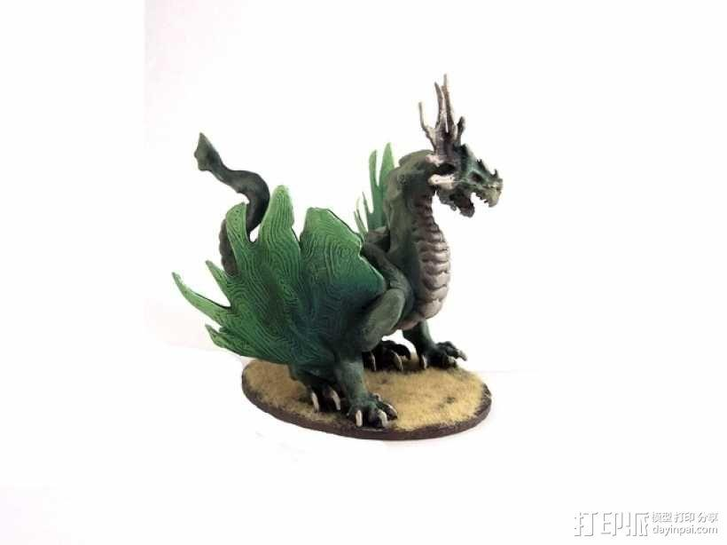 龙 模型 3D模型  图2