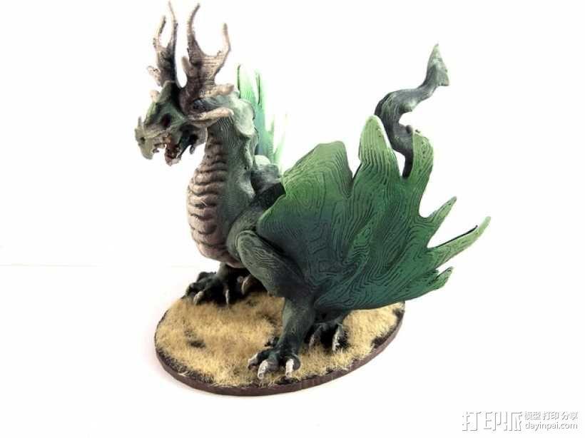 龙 模型 3D模型  图1