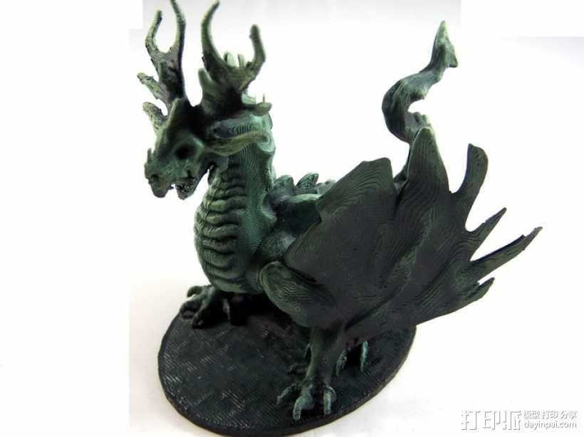 龙 模型 3D模型  图5