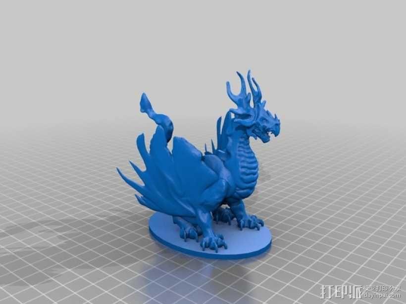 龙 模型 3D模型  图7