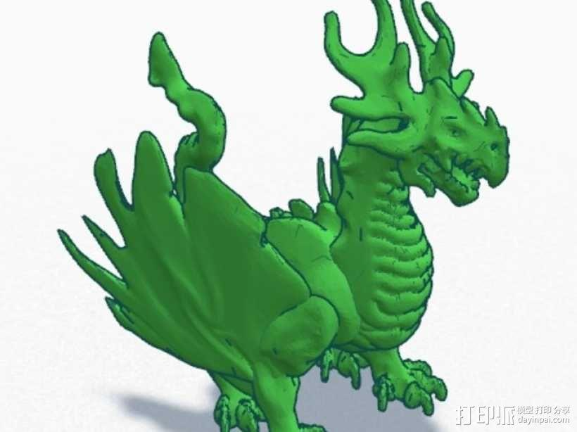 龙 模型 3D模型  图9