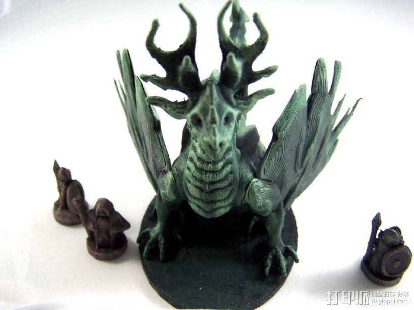 龙 模型 3D模型  图21