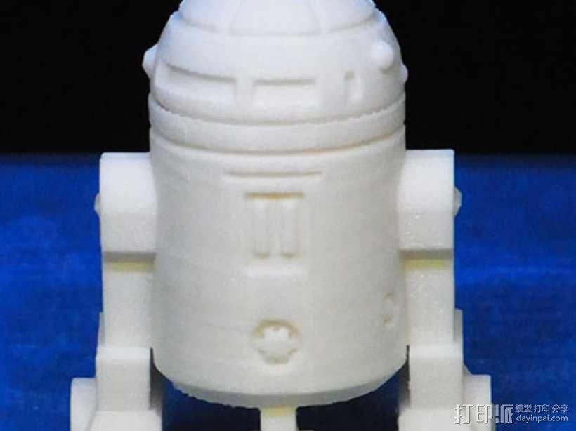 《星球大战》R2D2机器人 3D模型  图5