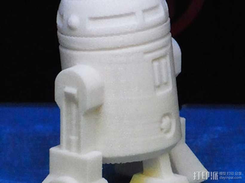 《星球大战》R2D2机器人 3D模型  图6