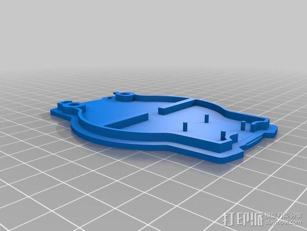 航海泛光灯 3D模型  图3