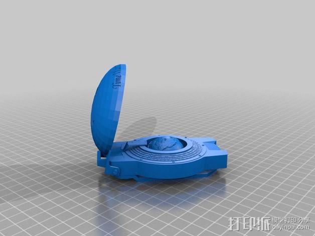 航海泛光灯 3D模型  图7