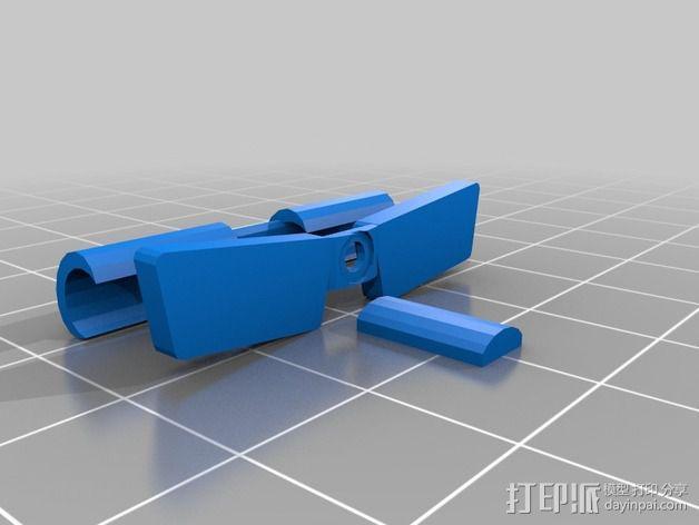 航海泛光灯 3D模型  图6