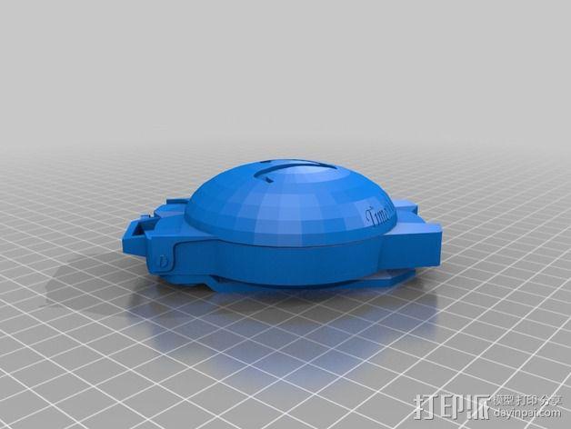 航海泛光灯 3D模型  图8