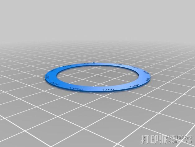 航海泛光灯 3D模型  图13