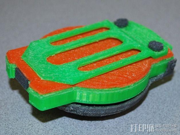 航海泛光灯 3D模型  图19