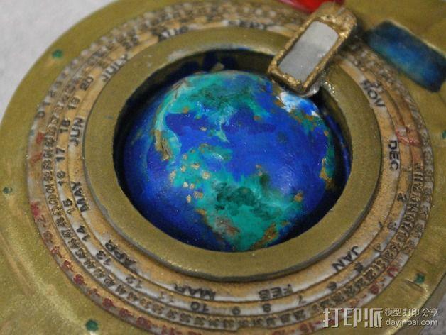 航海泛光灯 3D模型  图26