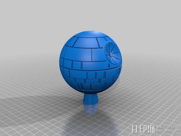 《星球大战》死亡星球 3D模型  图2
