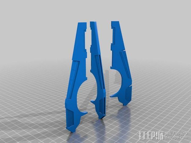 《星际战士》空投舱  3D模型  图2
