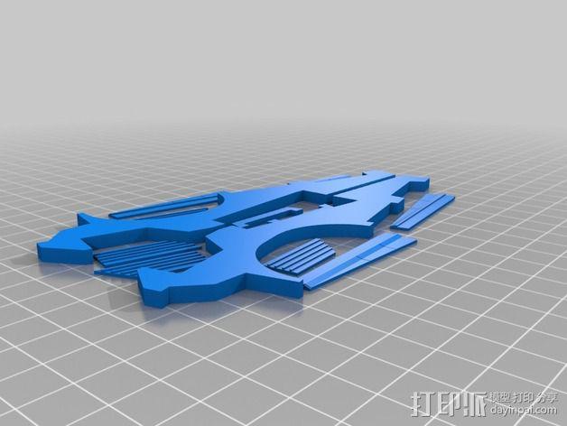 《星际战士》空投舱  3D模型  图5