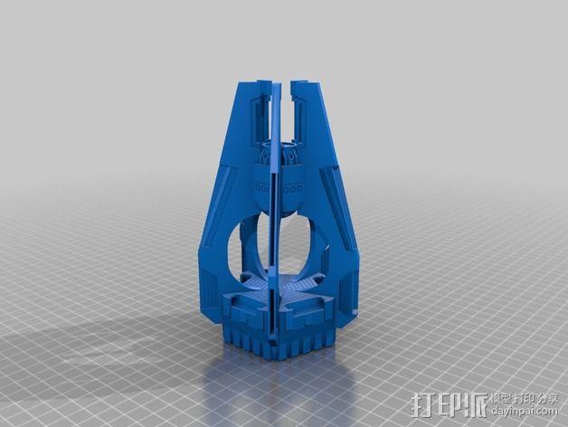 《星际战士》空投舱  3D模型  图6